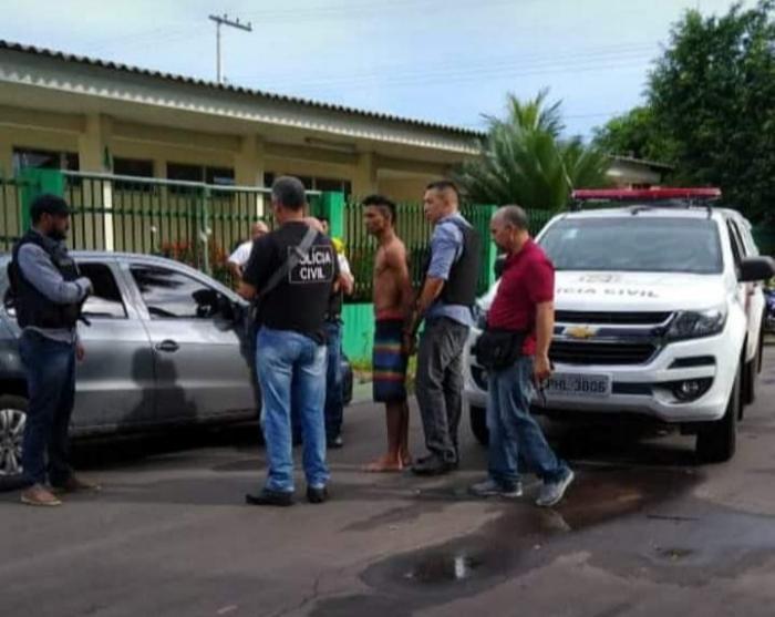 Autor do tiro em frentista de posto de gasolina em Parintins é preso pela Polícia Civil