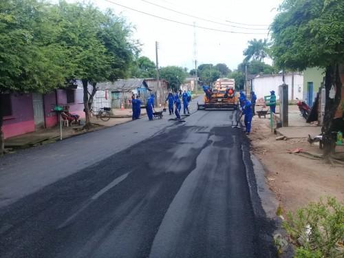 Estado executa obras de recuperação do sistema viário de Maués