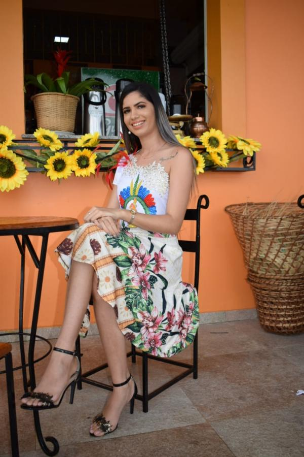 Candidata a Miss Parintins Gabriela Ferreira
