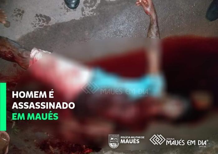 Homem é assassinado com facada no pescoço em Maués