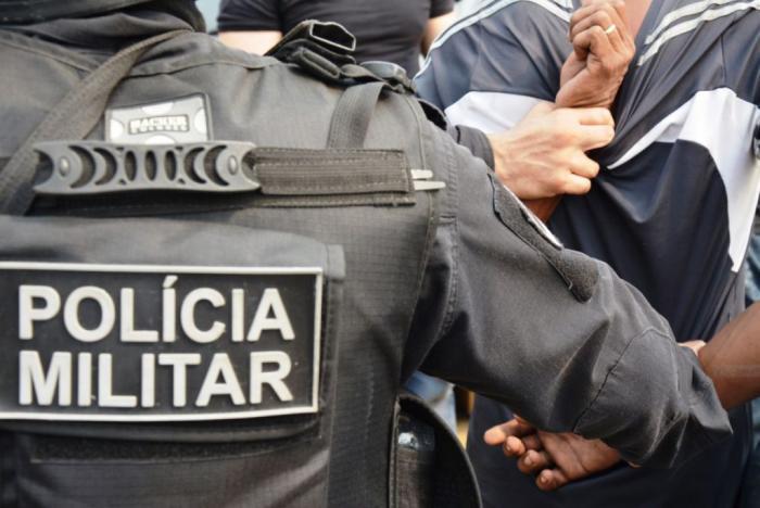 Em municípios do interior do estado, oito pessoas foram presas no fim de semana
