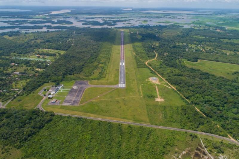Vinte e quatro aeroportos da Amazônia receberão investimentos federais