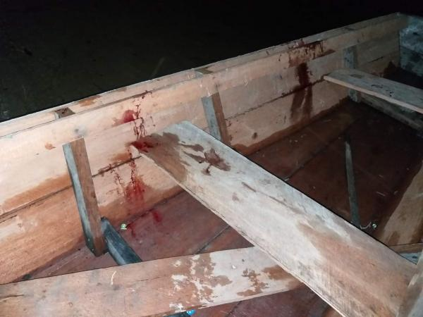 Mulher é morta em Maués com golpe de remo e Companheiro está preso