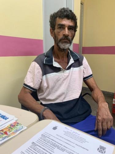 Polícia Civil prende pedreiro que cortou parte de uma das orelhas da companheira