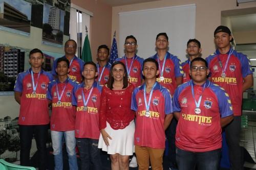 Escola de Parintins se classifica para Etapa Nacional dos Jogos Escolares da Juventude