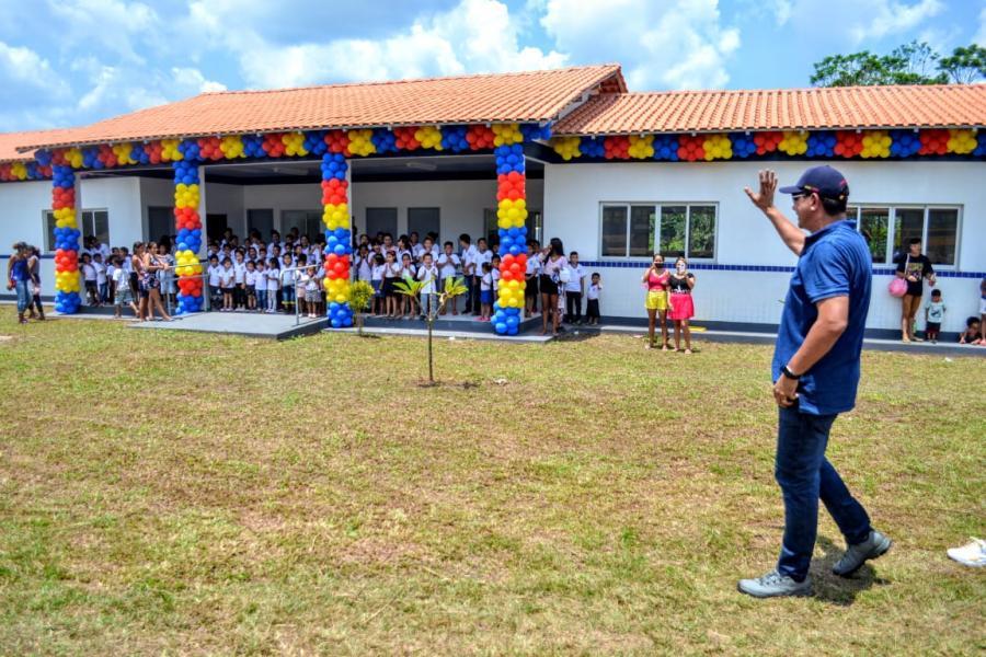 Prefeitura de Parintins vai entregar novas escolas na região do Lago da Valéria e Zé Açu