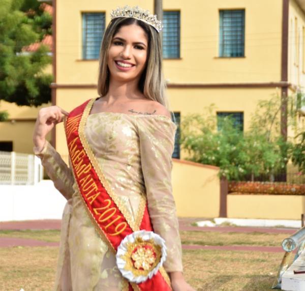 Gabriela Ferreira, Miss AmEmPauta, representante de Parintins no Beleza intermunicipal 2019