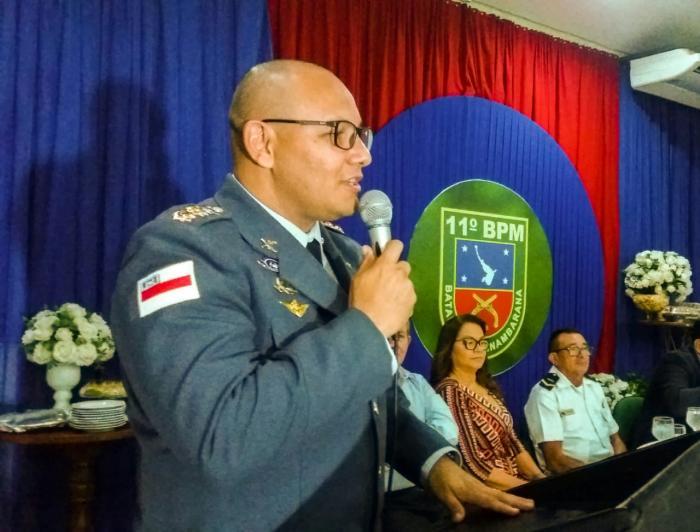 Tenente coronel toma posse no Comando da PM de Parintins