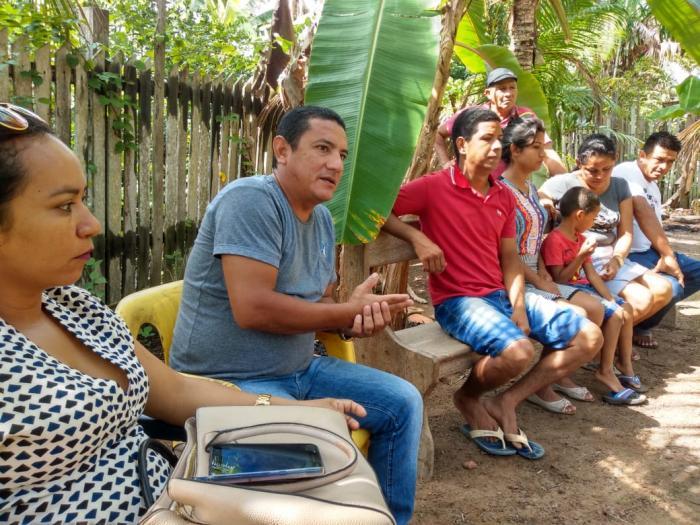 Gelson Moraes cumpre agenda de trabalho no Caburi