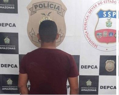 Polícia Militar do Amazonas  detém suspeito de estupro de vulnerável
