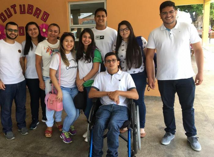Primeiro cadeirante estudante de medicina da UEA enaltece saúde de Parintins