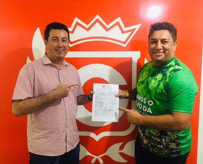 Garantido anuncia retorno de Tarcísio Gonzaga