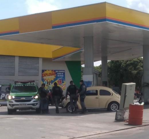 Após disparar tiros contra homem em Fusca, PM acaba detido em Parintins