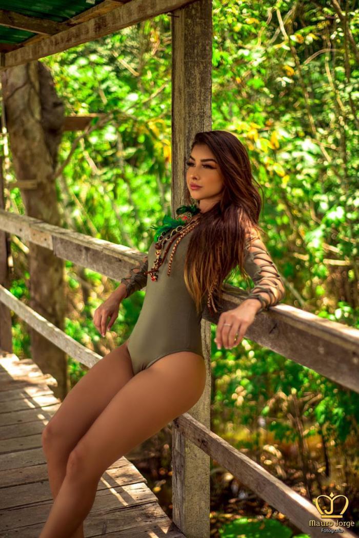 De Maués, Ianca Marques representará o Amazonas no concurso Miss Globo 2019