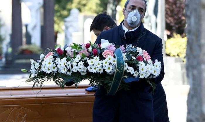 Mortos do coronavírus são enterrados sem funerais em todo o mundo