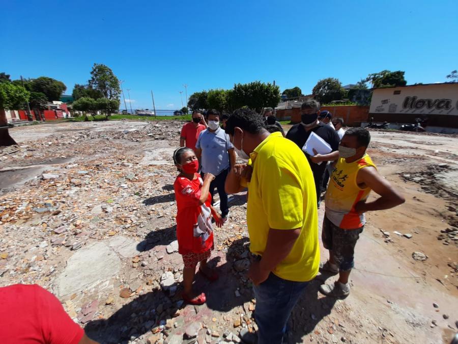 Baixa do São José, em Parintins, ganhará novo mercado, praça e urbanização