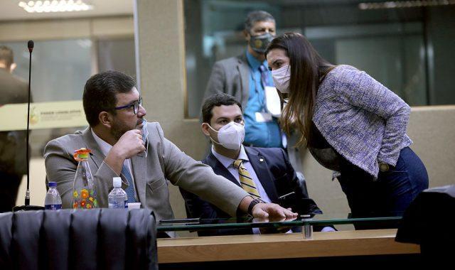 Alessandra e Dr Gomes irão conduzir Comissão de Impeachment de Wilson Lima