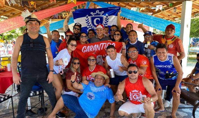 Pré candidato a vereador em Manaus, Juliano Santana recebe apoio da colônia parintinense