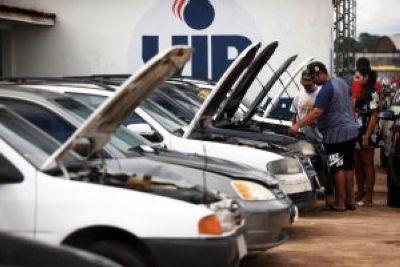 Detran Pará irá leiloar mais de 700 veículos de forma online dias 30 e 31