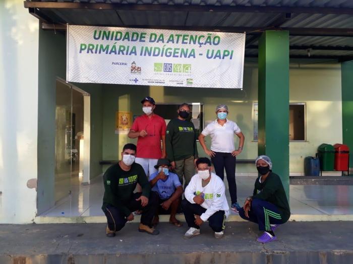 Áreas indígenas começam a receber Unidades de Atenção Primária do Dsei/Parintins- Am