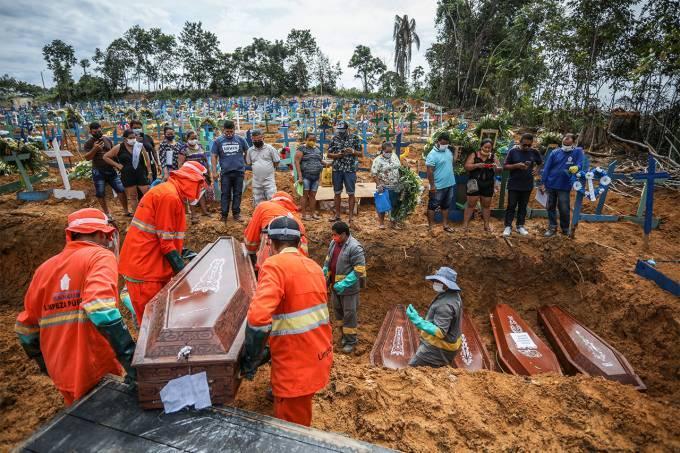 Mortes por causa indeterminada ocorridas no pico da pandemia são revisadas e causam aumento no número de óbitos por Covid-19 no Amazonas