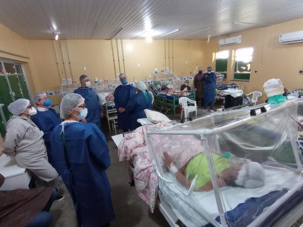 OPAS e Susam verificam a atuação de Parintins no combate à pandemia do Coronavirus