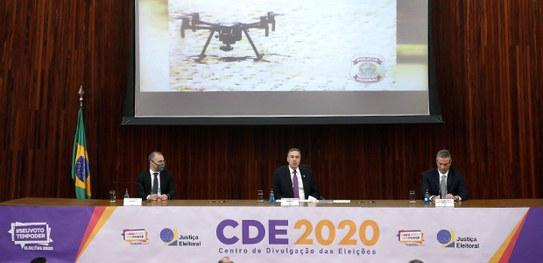 PF usará drones para fiscalizar irregularidades nas Eleições 2020