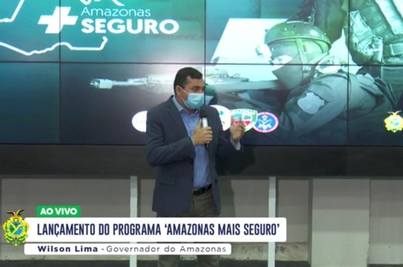 Wilson Lima anuncia concurso público para área da Segurança pública com mais de 2.500 vagas