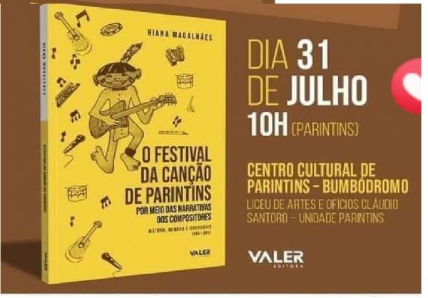 RESGATE: Livro 'Festival da Canção de Parintins' será lançado neste sábado, no Bumbódromo