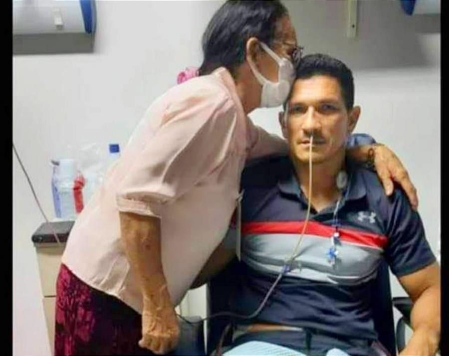 Ex-Jogador Socoró passa por cirurgia delicada contra o câncer em Recife