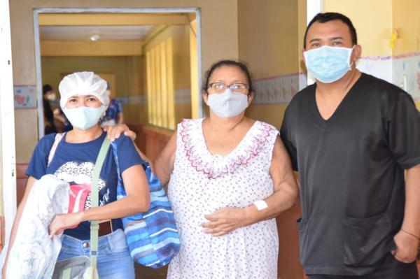 Pacientes destacam felicidade em participar de jornada de cirurgia ginecológica