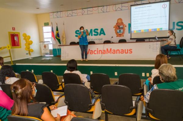 Prefeitura de Manaus prepara campanha para atualização vacinal